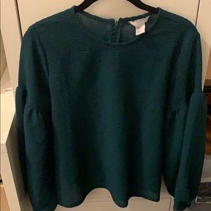 Green H&M Top